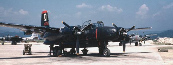 B-26 Invader Units over Korea
