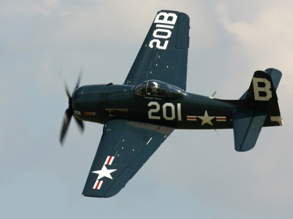 Grumman F8f Bearcat 4608x3072 Wing Sky Airplane Aircraft Heaven Vehicle Aviation Flight Clouds Air Force Jet Fighter Military