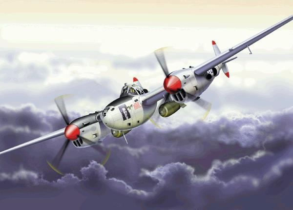 Lockheed P 38 Lightning USA