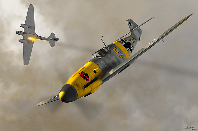 Messerschmitt Bf 109 - Germany