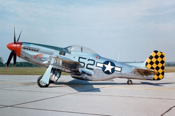 North American P 51 Mustang